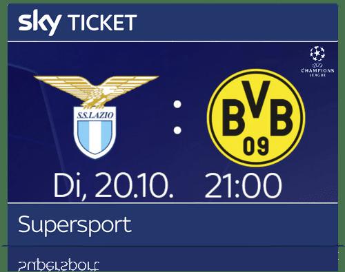 sky-ticket-supersport-champions-league-lazio-dortmund