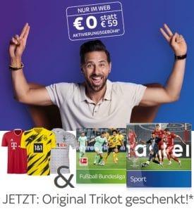 Sky Live-Sport Kombi Angebot 2020/21 - Alles Live: nur 30€/Monat! JETZT: Inklusive Trikot!