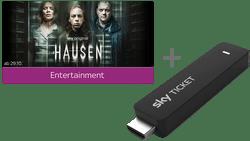 Sky Ticket Cyber Week Angebot Entertainment