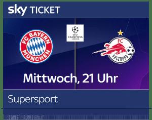 Sky Supersport Ticket inkl. Bundesliga & UEFA Champions League 2020/21 Live ⚽️ JETZT: ab 19,99€/Monat!