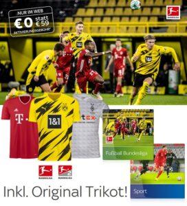 Sky Bundesliga Live Angebot 2021 - ab 25€/Monat! JETZT: Inklusive Trikot!
