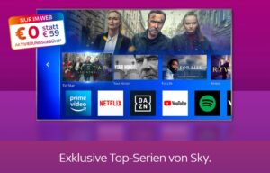Sky Angebot inkl. Sky Q & alle Serien 🎬 ab 12,50€ mtl.!