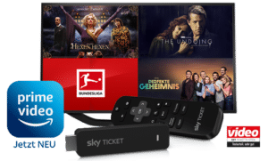 Sky Ticket TV Stick 29,99€ inkl. bis zu 3 Monate Sky Ticket!
