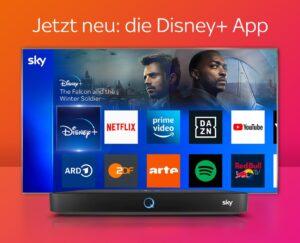 Sky Q ALL-IN-ONE 🎬 Angebot ab 12,50€ mtl.! JETZT: Disney+ App!