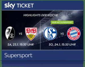 Sky Sport Ticket inkl. Bundesliga, 2. Liga & Premier League 2021 Live ⚽️ JETZT: ab 9,99€/Monat!