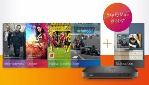 ALL INCLUSIVE! 🔥 Sky komplett Angebot inkl. HD: 45€/Monat! JETZT: inkl. Multiscreen & Sky Q Mini!