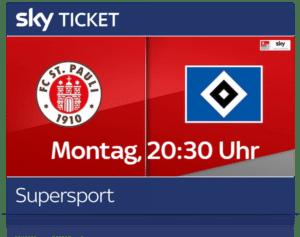Sky Sport Ticket inkl. Bundesliga, Champions League & 2. Liga Live ⚽️ JETZT: ab 9,99€/Monat!