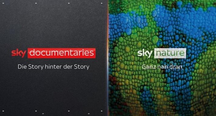 Sky Doumentaries & Sky Nature