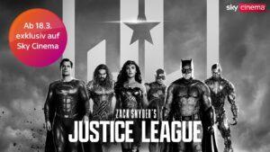 Justice League - Exklusiv bei Sky ab 18.03. - ab 10,99€ streamen