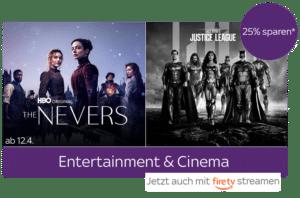 25% Kombi-Rabatt: Serien+Filme - Angebot bei Sky Ticket: nur 10,99€!