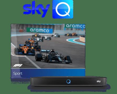 Mit Sky Q die Was hab ich verpasst Funktion auch in der Formel 1 nutzen!