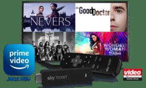 Sky Ticket TV Stick ab 7,49€ inkl. Sky Ticket!