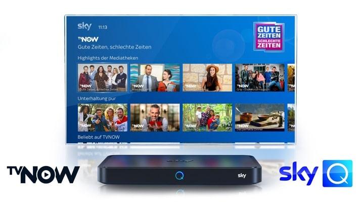 Kostenlose Mediathek TVNOW