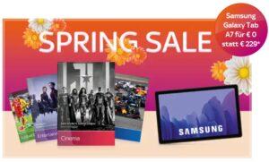 ALL INCLUSIVE! 🔥 Sky komplett Angebot: 40€/Monat! JETZT: Samsung Tablet A7 gratis!