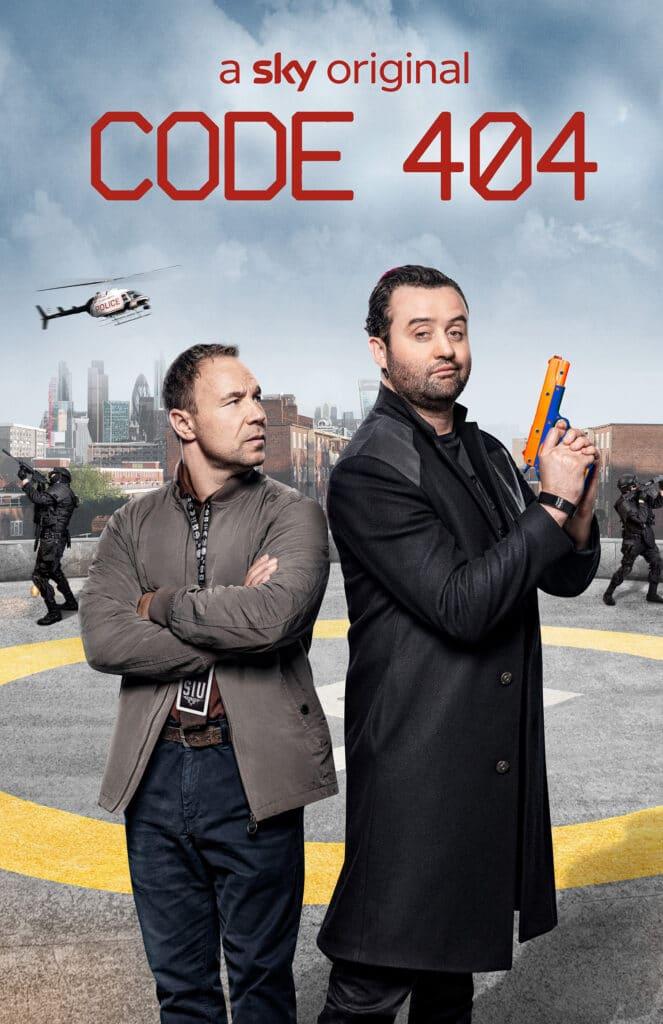 """Stephen Graham (li.) und Daniel Mays in """"Code 404"""""""