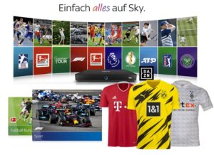 Live-Sport Komplett Angebot 2021/22 - nur 30€/Monat! JETZT: Inklusive Trikot!