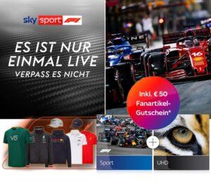 Sky Formel 1 Live Angebote 2021 🏎️ Sky Sport F1 | Ticket ab 19,99€ | Abo ab 17,50€