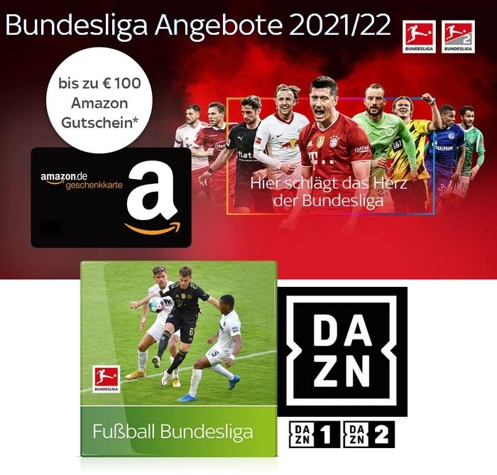 Sky Bundesliga Angebote 2021/22 - JETZT: 25€ Sky Bundesliga inkl. 50€ Gutschein!