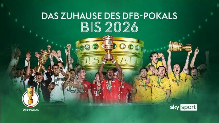Alle Spiele des DFB-Pokals bis 2026 live bei Sky