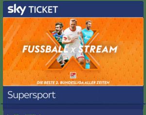 Sky Supersport Ticket inkl. 2. Liga, Bundesliga & Formel 1 Live ⚽️ JETZT: ab 19,99€/Monat!
