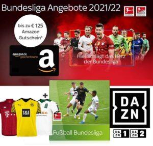 Sky Bundesliga Angebote 2021/22 – JETZT: 25€ Sky Bundesliga inkl. Trikot / 125€ Gutschein