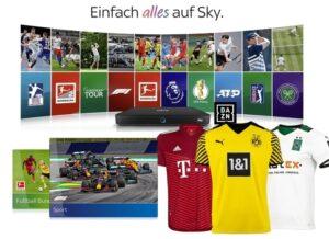 Live-Sport Komplett Angebot 2021/22 - nur 30€/Monat! JETZT: inkl. Trikot / Fitnesstracker