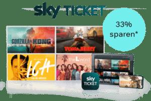 33% Kombi-Rabatt: Serien+Filme - Angebot bei Sky Ticket: nur 9,99€!