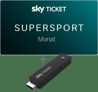 Sky Ticket TV Stick Angebot Supersport